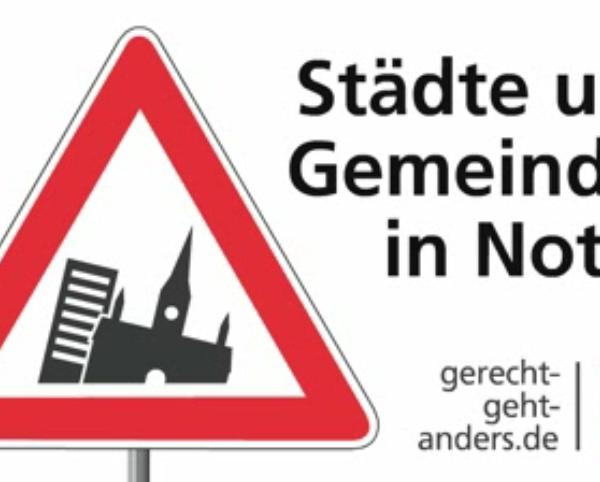 Städte und Gemeinden in Not